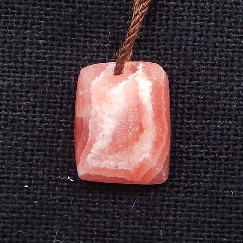 9.5cts argentina rhodochrosite pendants,rhodochrosite gem D1155