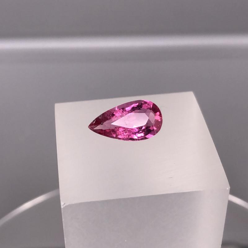 2.15 cts Natural  Pink Rubellite Tourmaline Gemstone   SKU : 19