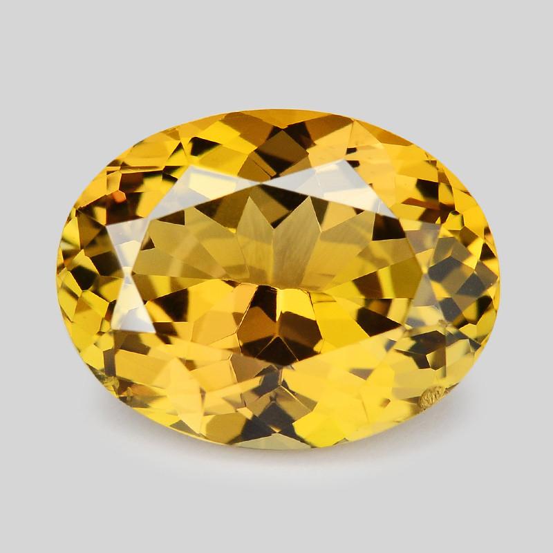 Yellow Tanzanite  4.11 Cts Yellow Color Natural Tanzanite Gemstone