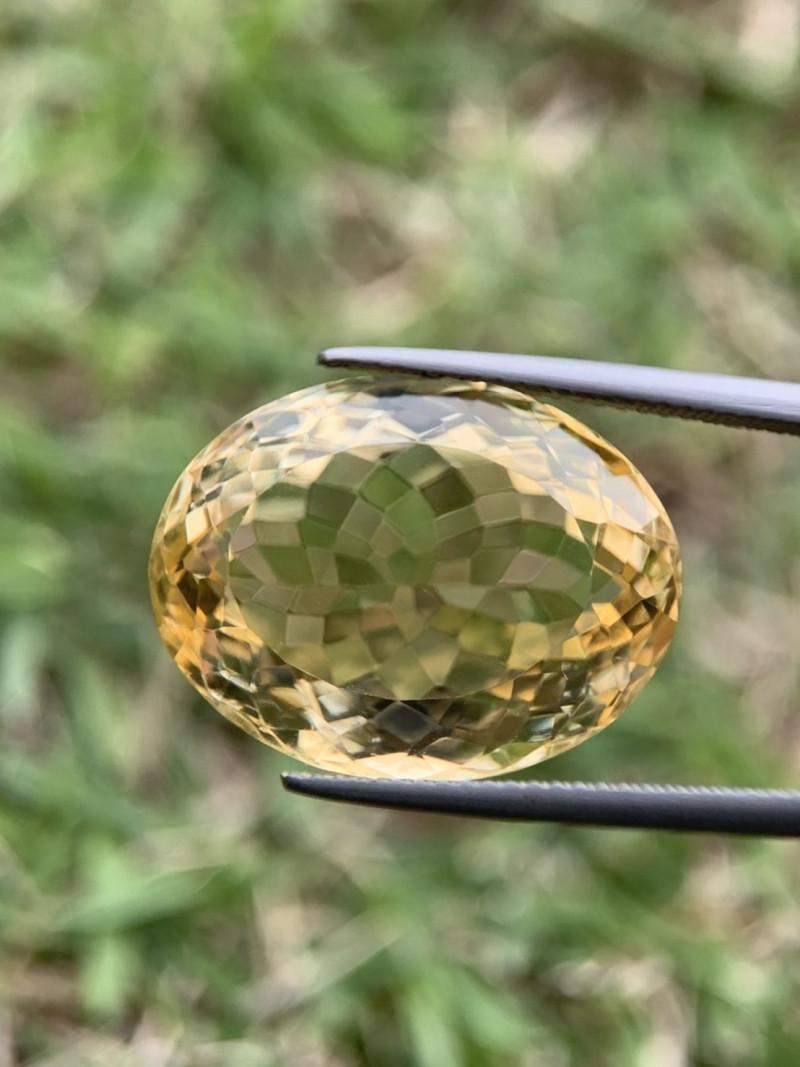 20.65 Ct beautiful Yellow Citrine. ctr002