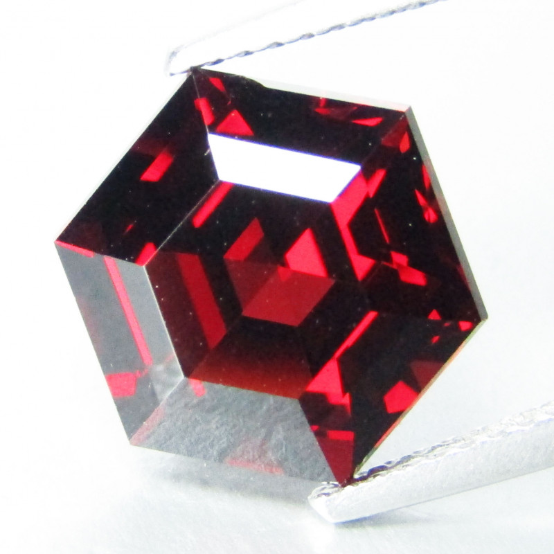 6.25Cts Genuine Natural Unheated Almandaine Garnet Octagonal Loose Gem REF