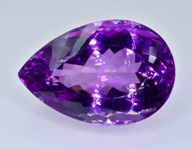 52.21 Crt Amethyst Faceted Gemstone (Rk-4)