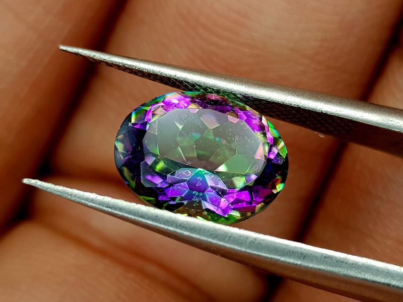 2.35Crt Mystic Quartz Natural Gemstones JI38