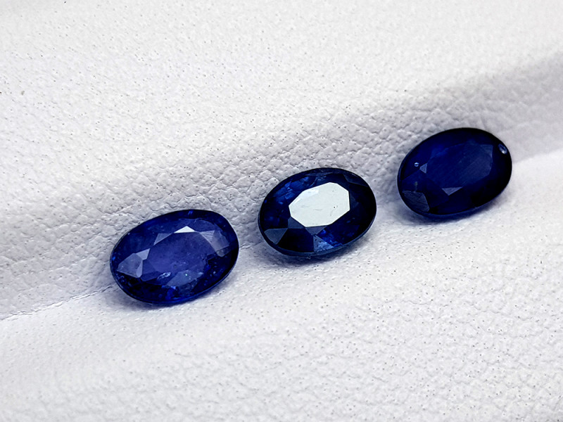1.92Crt Blue Sapphire Heated ( be )  Natural Gemstones JI39