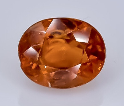 1.22 Crt Natural Spessartite Garnet  Faceted Gemstone.( AB 26)