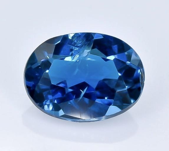1.44 Crt Natural Topaz London Blue Faceted Gemstone.( AB 26)