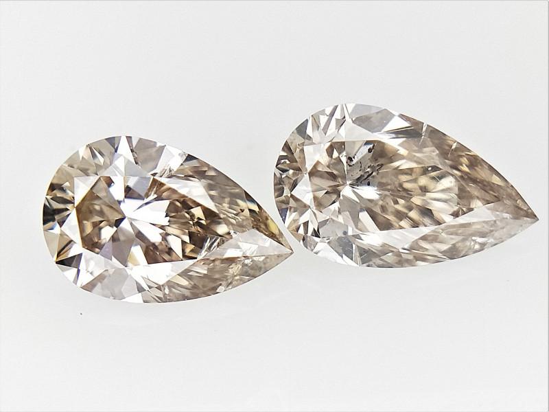 0.39 cts fancy Natural Diamond , Unique Shaped Diamond