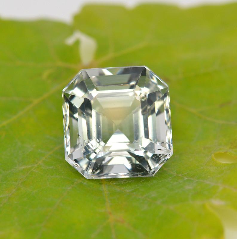 8.80  Carat Natural Sant Maria Color  Aquamarine Gemstone