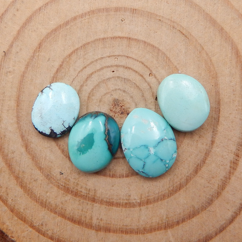 D1304 - 9cts Lucky Turquoise, Handmade Gemstone, Turquoise Cabochons, Lucky