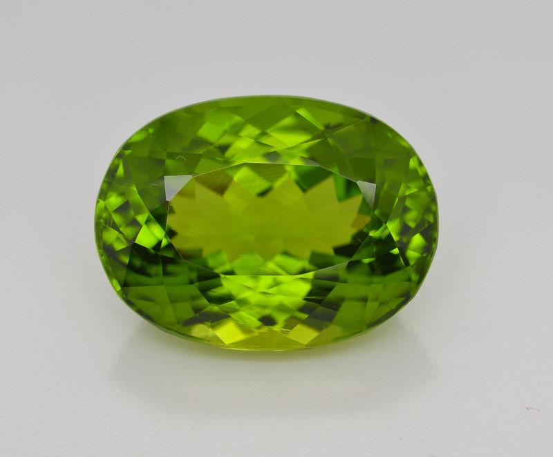 26 Carat Natural Grass Color Peridot Gemstone