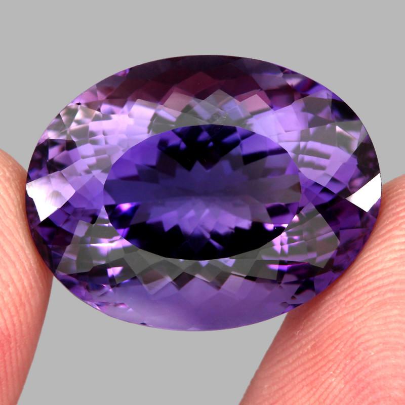 35.89 ct 100% Natural Earth Mined Unheated Purple Amethyst, Uruguay