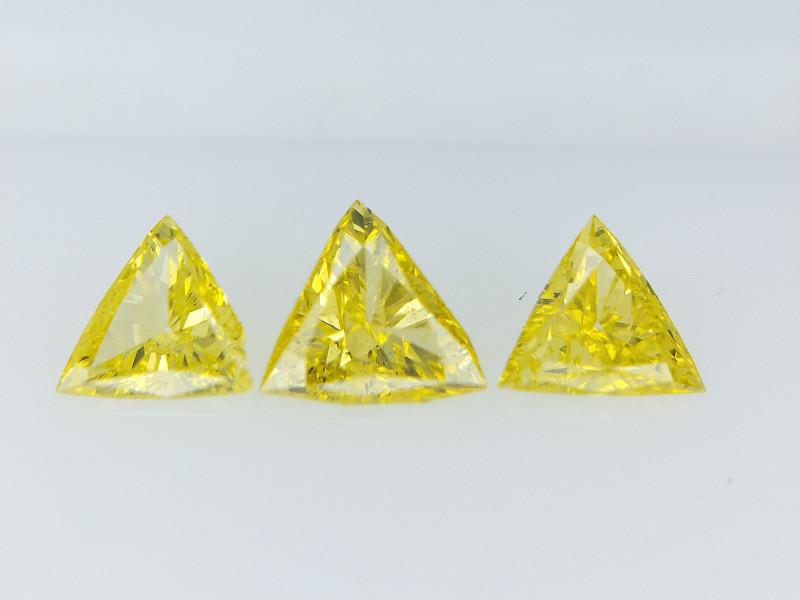 0.65 cts fancy Natural Diamond , Unique Shaped Diamond