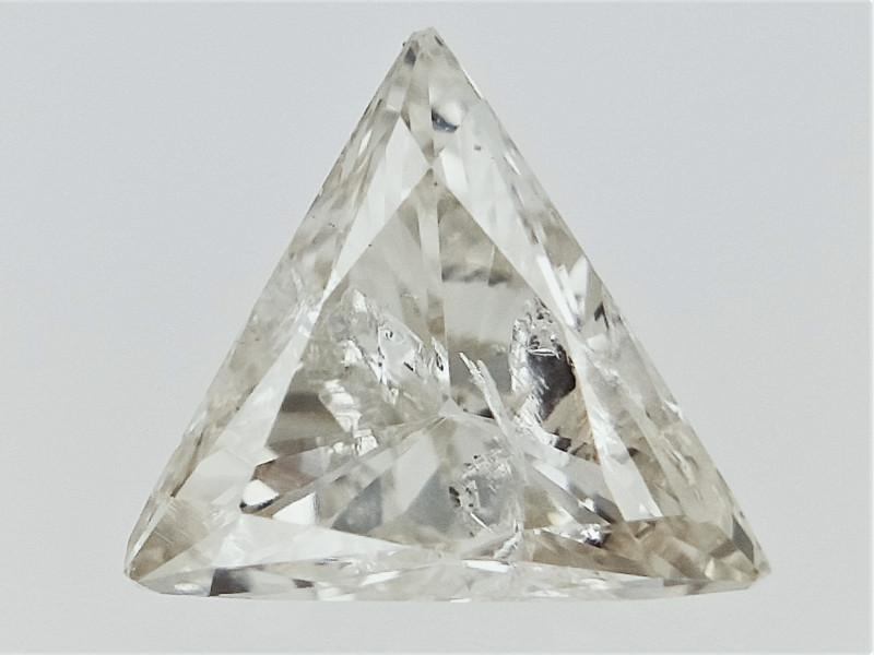 0.20 cts Triangle Brilliant Cut Diamond , Natural Sparkling Diamond