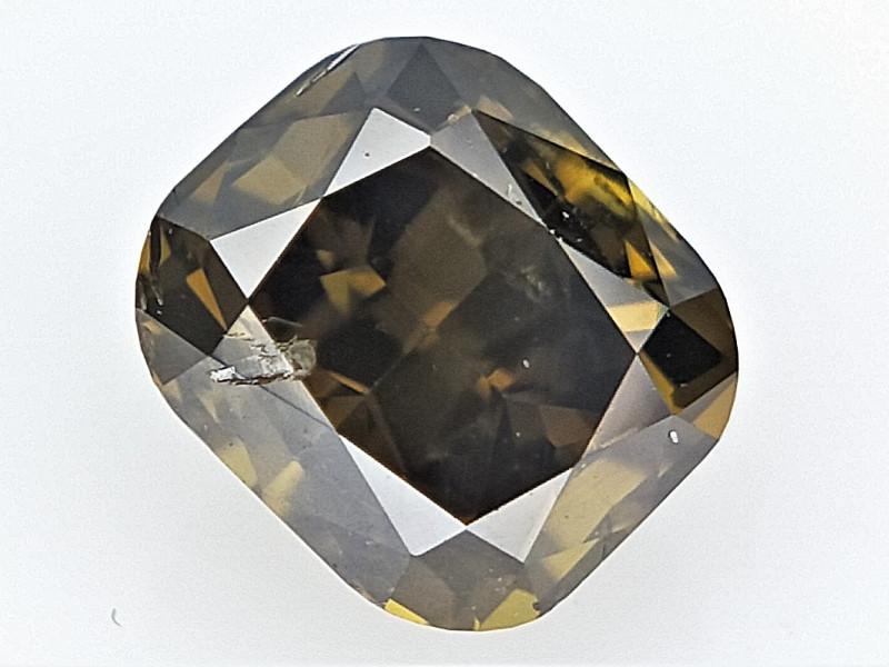 0.32 cts  cushion Brilliant Diamond , loose cut Diamond
