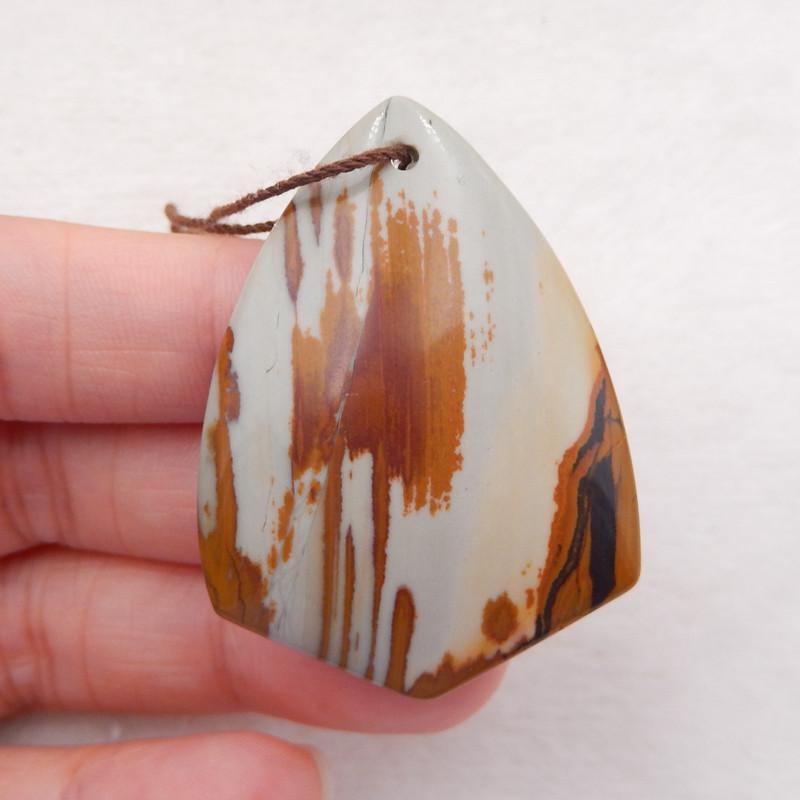 D1334 - 52.5cts Owyhee Jasper Pendant Bead Lucky Pendant,Natural Gemstone P