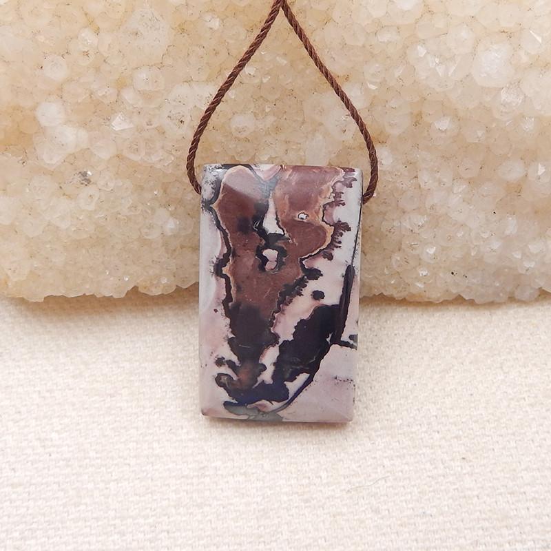 P0127 47Cts Natural Chohua Jasper Pendant Bead