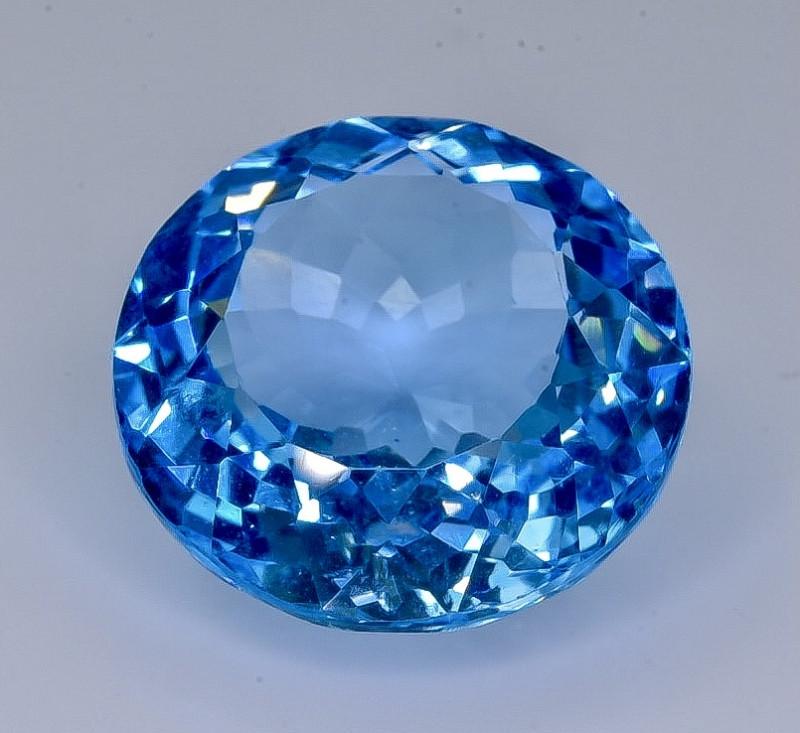 17.25 Crt Topaz Faceted Gemstone (Rk-9)