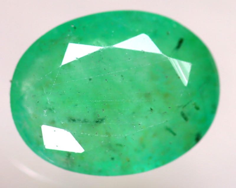 Emerald 2.30Ct Natural Zambia Green Emerald D2919/A37