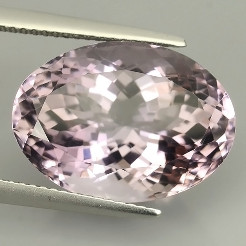 13.60 CTS  NATURAL  LUSTER PURPLE AMETHIYST GEM OVAL