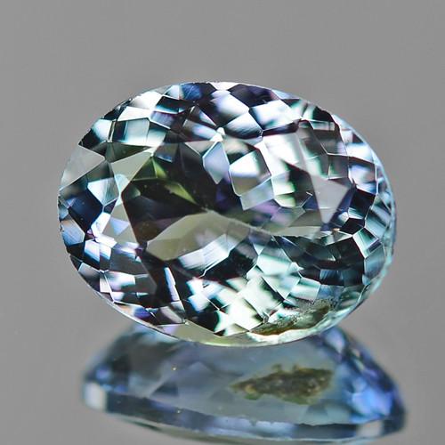 1.71 Cts Greenish Blue Color Natural Tanzanite Gemstone