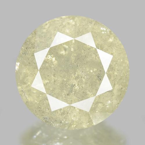 2.50 Cts Untreated Grayish Yellow Natural Diamond