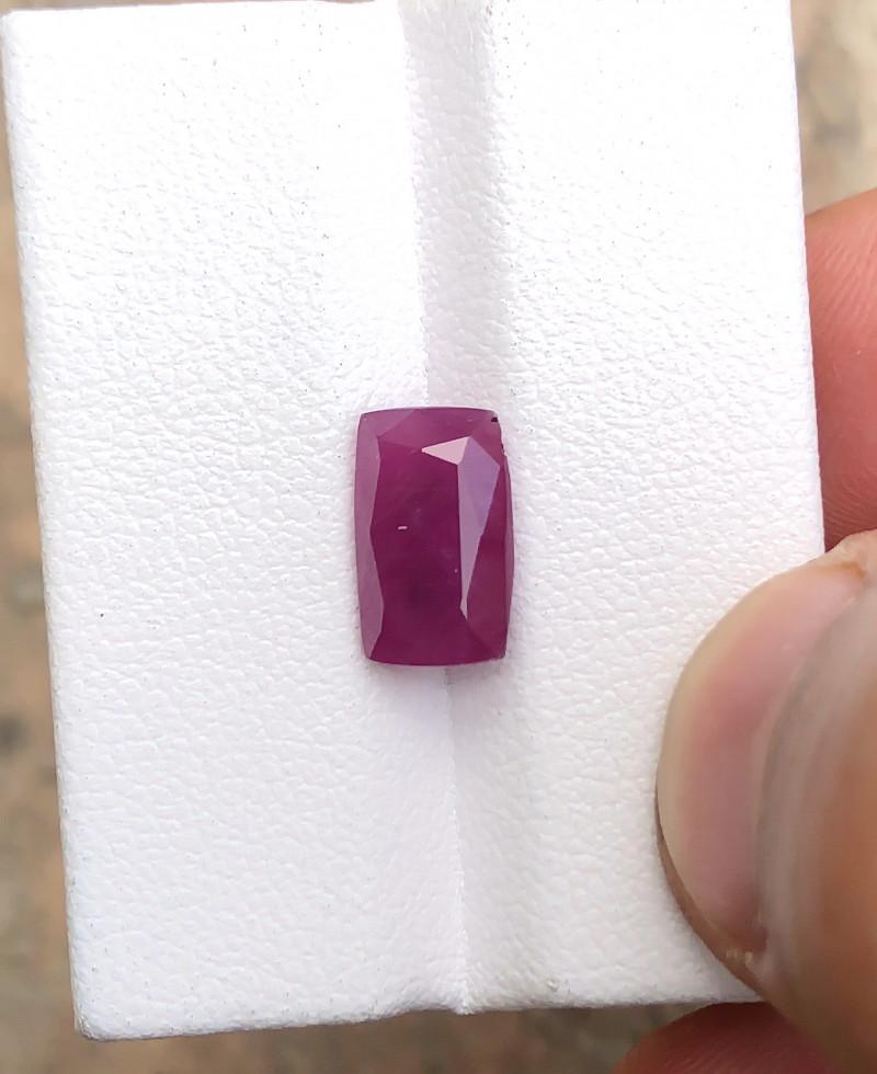 HGTL CERTIFIED 4.36 Ct Natural Natural Purplish Pink Sapphire Gemstone