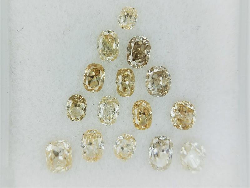 1.33 cts Diamond Parcels , Wholesale Prices