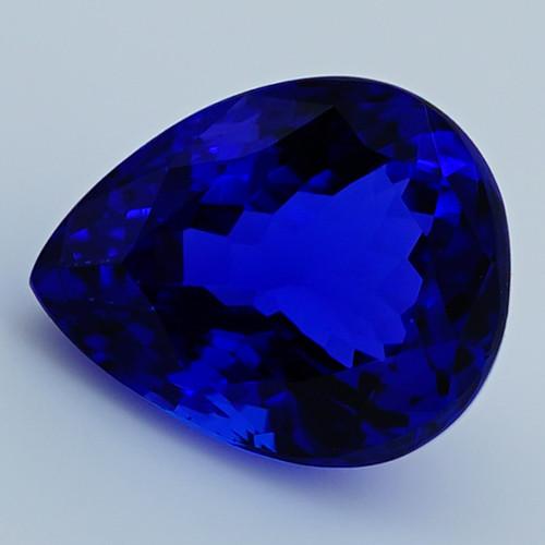 4.16 CT D Block Rare Find Natural Blue Tanzanite T1-29