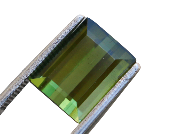 4.20 Cts Natural & Unheated~ Green Tourmaline Gemstone