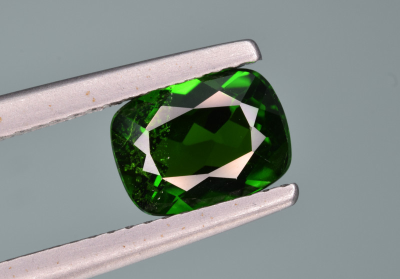Natural  Green Chrome Diopside 1.59 Cts