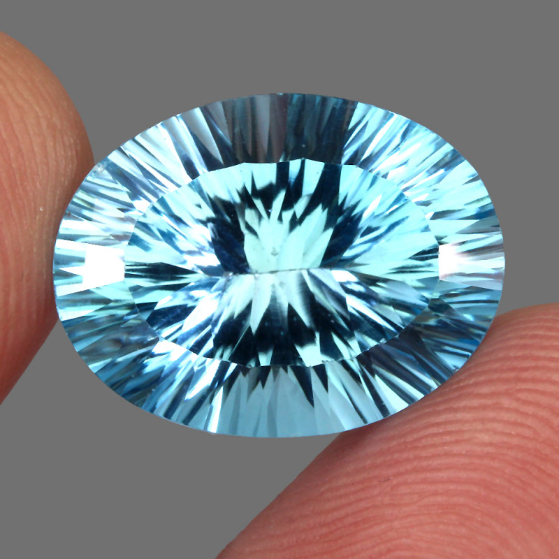 17.12 ct. 100% Natural Earth Mined Top Quality Blue Topaz Brazil