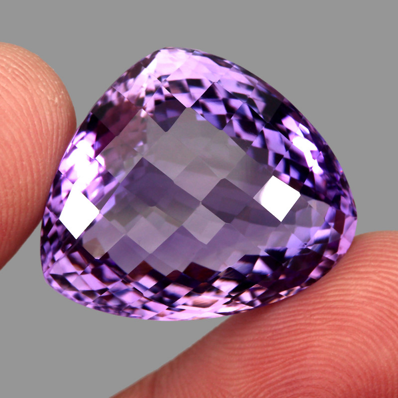 46.26 ct Natural Earth Mined Top Quality Unheated Purple Amethyst,Uruguay