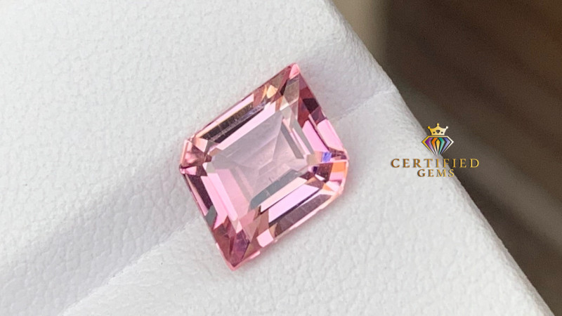 Top quality baby pink tourmaline from Afghanistan