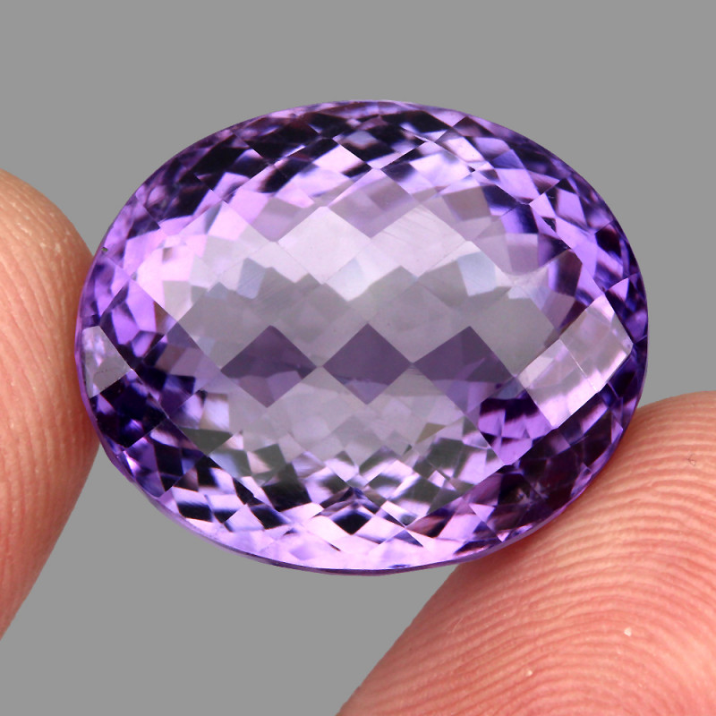 36.63  ct Natural Earth Mined Top Quality Unheated Purple Amethyst,Uruguay