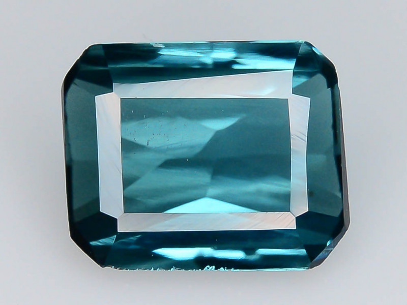 Top Grade 0.90 ct lovely Indicolite Tourmaline  Ring Size~Q