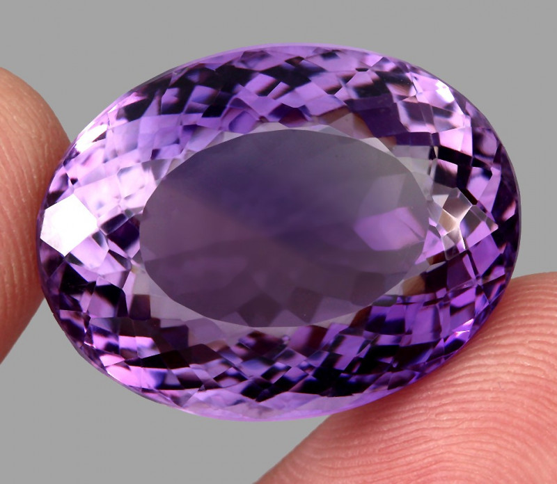 51.53 ct Natural Earth Mined Top Quality Unheated Purple Amethyst,Uruguay