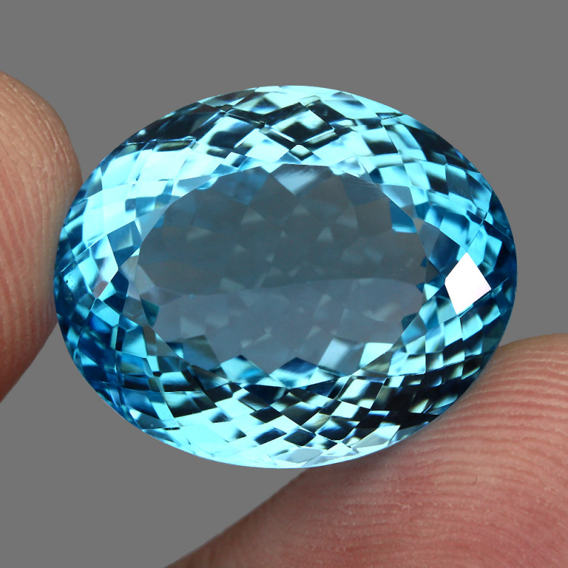 37.43 ct. Natural Earth Mined Top Quality Blue Topaz Brazil