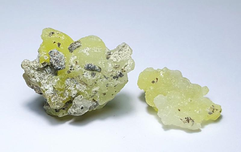 Amazing Natural color Damage free Rare Brucite specimen 45Cts-P