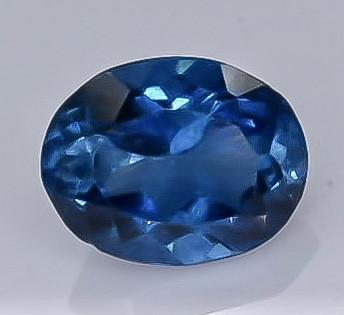1.44 Crt Natural London Blue Topaz Faceted Gemstone.( AB 28)