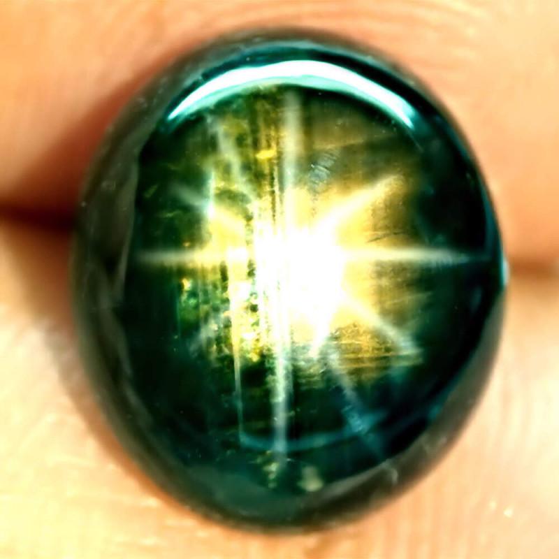 8.44 Carat Thailand 12 Ray Black Star Sapphire - Gorgeous