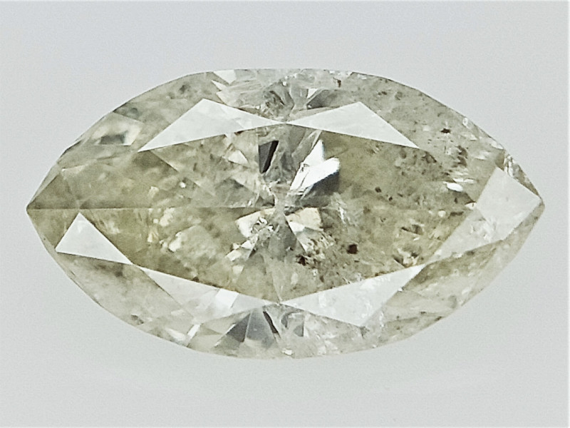0.24 cts   , Salt and Pepper Diamond , Marquise Diamond For Jewelry