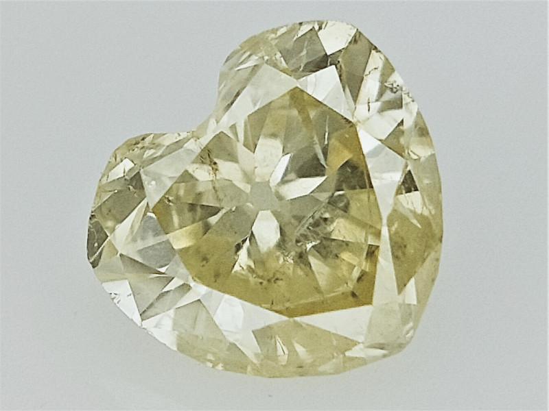 0.22 cts  Beautiful heart Brilliant Cut Diamond , Diamond for jewelry