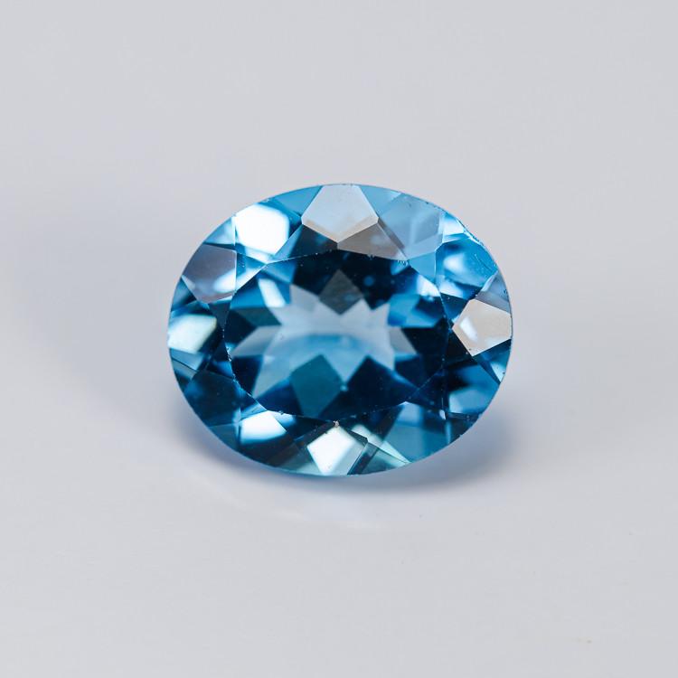 **15NR** 5.68 ct. Natural Blue Topaz