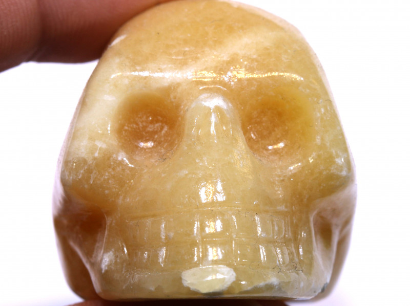 476cts Agate Skull Carving  LT-1069 lightningtreasures