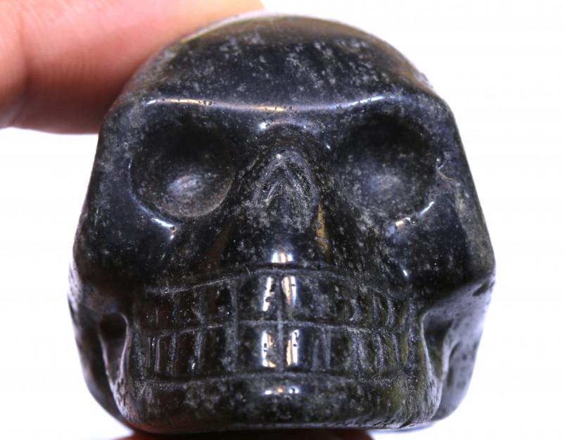405cts Jasper Skull Carving  LT-1074 lightningtreasures