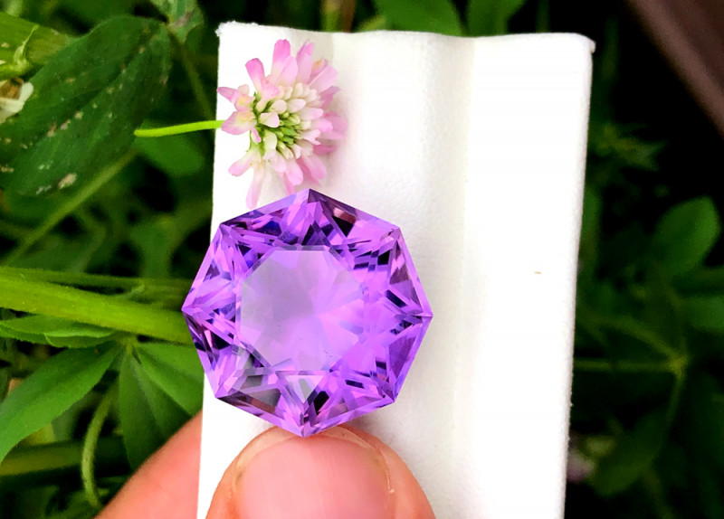 Amethyst, 27.80 Cts Natural Top Color & Cut Amethyst Gemstones