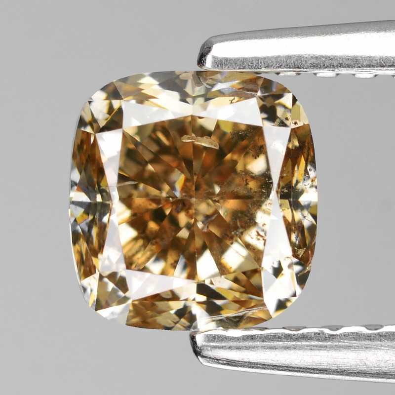 Honey Diamond 1.10 Cts Untreated Natural fancy Color