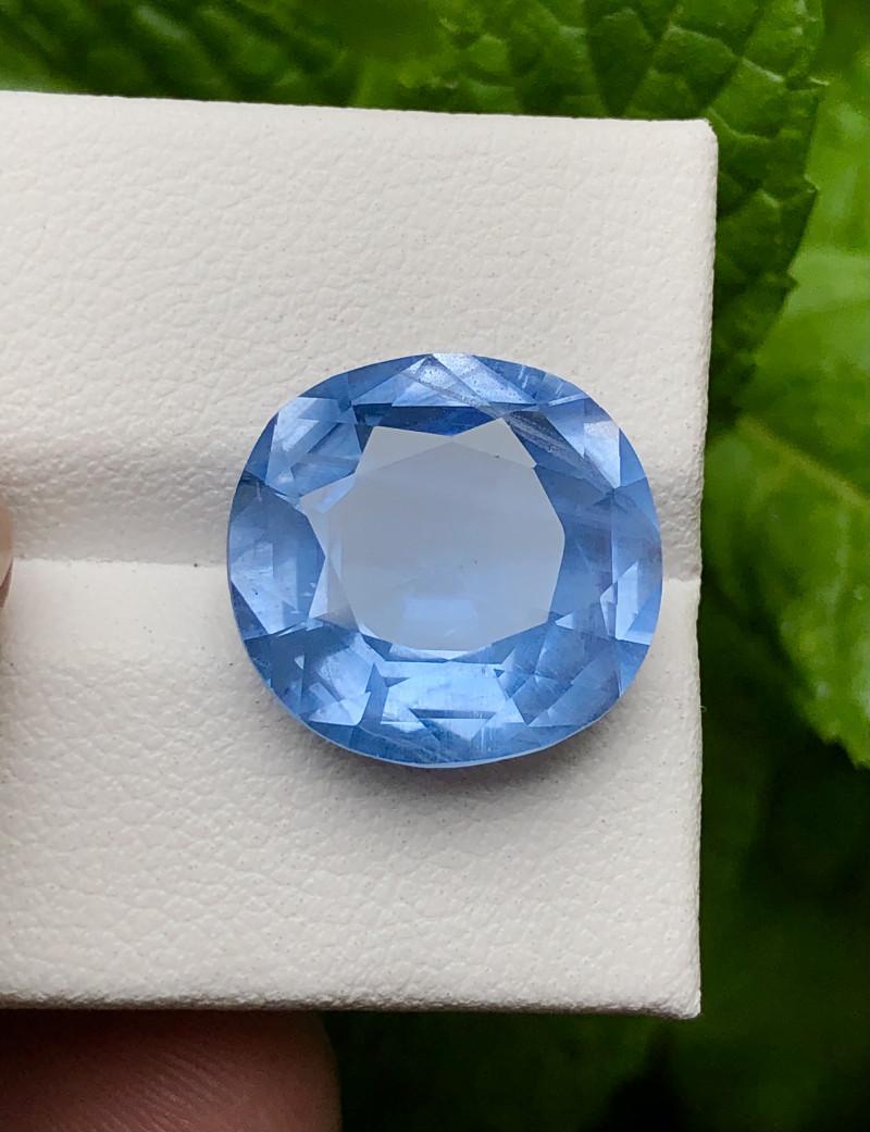 9.15 carats natural aquamarine beryl gemstone