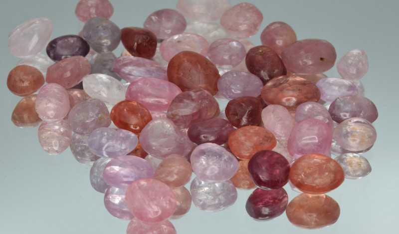 100.41 Cts Natural Spinels Multicolr Polished Tumbled Lot