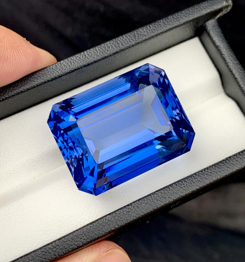 Santa Maria Color Aquamarine Gemstone - 85.65 Carats